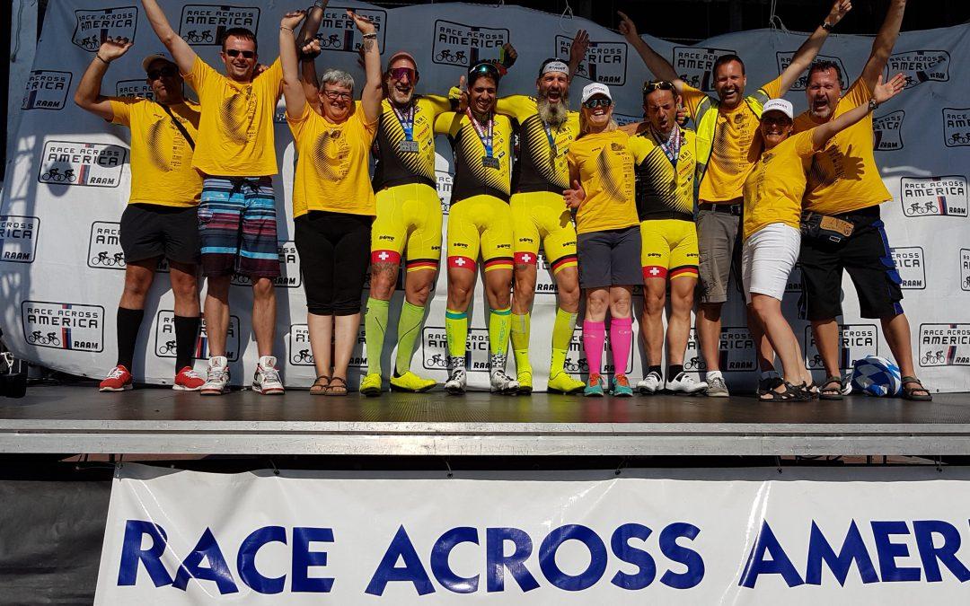Erfolgreich – Hobby-Radteam beim Race Across America sicher im Ziel