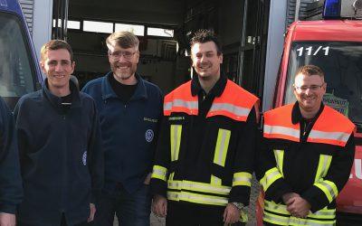 Feuerwehr und THW wollen Zusammenarbeit stärken