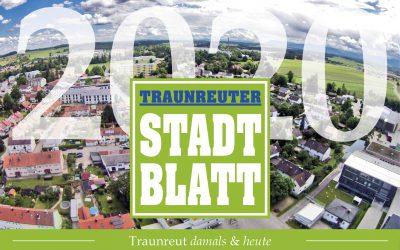 """FOTOKALENDER """"Traunreut damals und heute 2020""""  des Traunreuter Stadtblattes"""