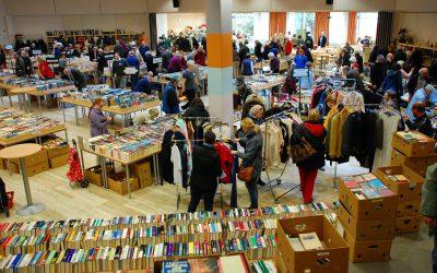 Großer Bücher- und Flohmarkt des Lions-Club Traunstein 28. Februar – 1. März