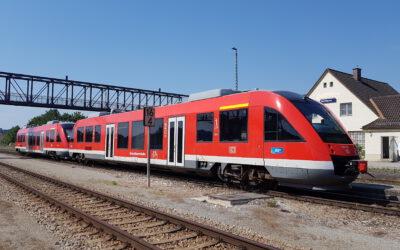 Ab 14. Juni auch am Wochenende SOB-Züge auf der Traun-Alz-Bahn