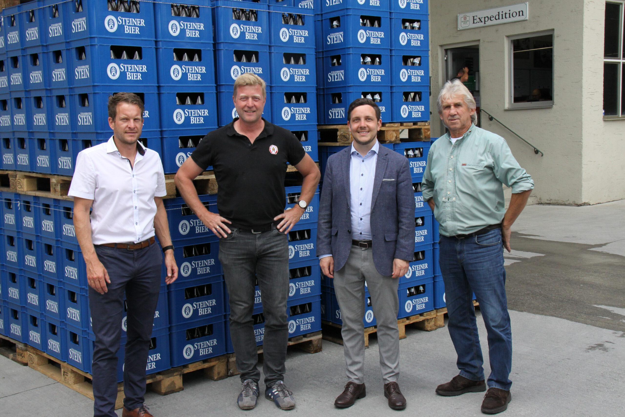 Markteinführung des neuen Bieres der Schlossbrauerei Stein