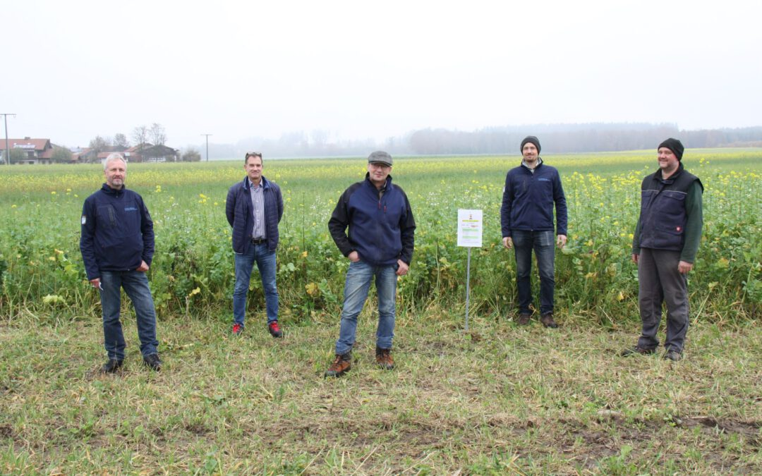 Kooperation zwischen Landwirten und den Stadtwerken Traunreut