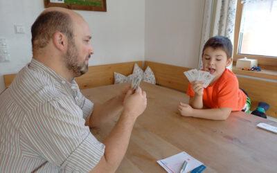 Bayerische Kartenspiele in der Familie
