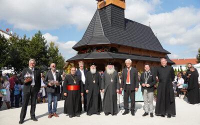 Herbstfest mit Festakt der rumänisch-orthodoxen Kirche – Segnung der Baustelle für neues Kulturzentrum